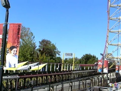 Dragster Roller Coaster, Cedar Point, Ohio