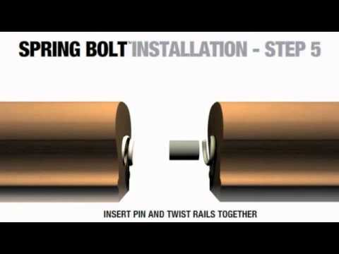How to Install a Rail-to-Rail Connection into your Staircase - The Home Depot