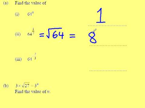 Reciprocals and indices part 2 of 3