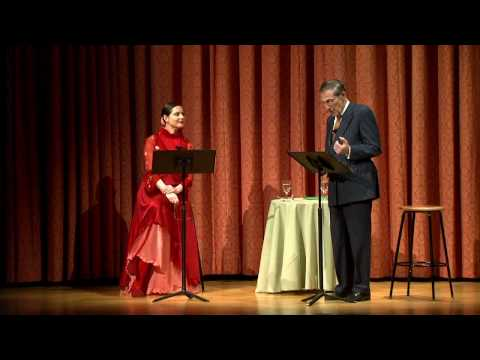 Isabella Rossellini and Philippe de Montebello Read Poetry on the Nature of Love