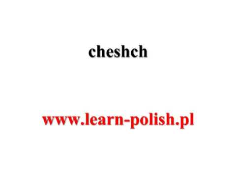 Basic Survival Polish. Lesson 4. Polish Lessons Audio