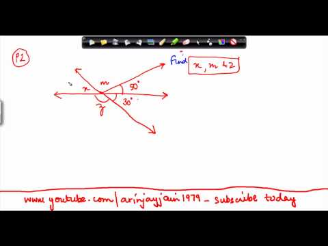 1429. $ CBSE Class VI Maths,  ICSE Class VI Maths -  Problem on angles 2.mp4