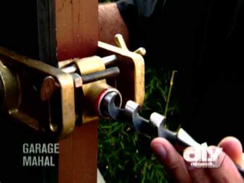 Installing a Deadbolt-DIY