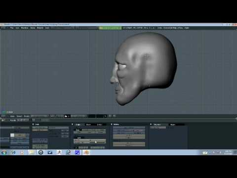 Blender Tutorial - Head Sculpting Part 5/9