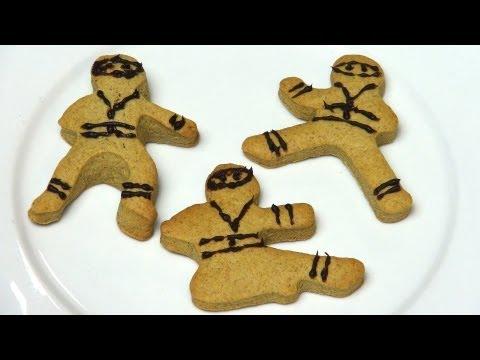 Ninja Gingerbread Men - RECIPE