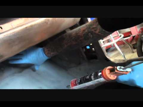 Classic Car/Automobile Restoration-How To Apply Seam Sealer. Part 2