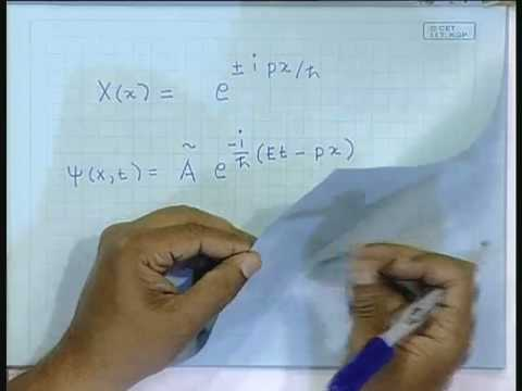 Lecture - 37 Schrodinger Wave Equation