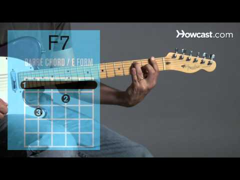 How to Play Guitar: Beginners / Barre Chords: F7