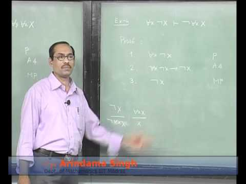 Mod-01 Lec-39 Lecture-39-Ariomatic System FC