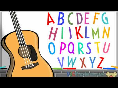 Alphabet ABC Song for Children + Kids: Have You Ever Seen a Letter Hiding in Your Soup?