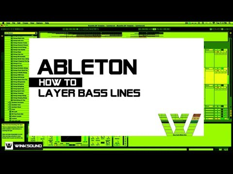 Ableton Live: How To Layer Bass Lines | WinkSound