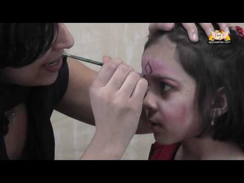 Face Painting - Learn to paint a Princess