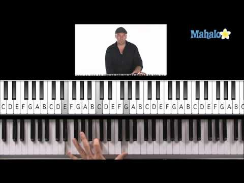 Learn Piano HD: How to Play I, IV, V Progression (Left Hand) on Piano