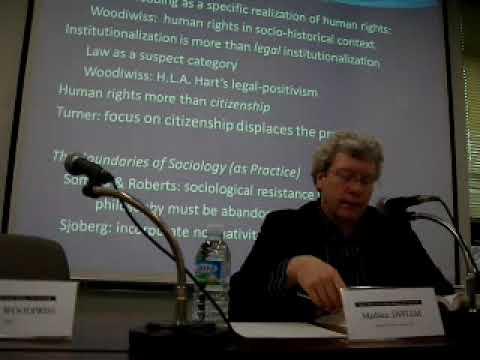 Sociology & Human Rights 2/4 by Mathieu Deflem