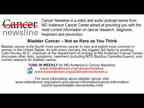 Bladder Cancer -- Not as Rare as You Think