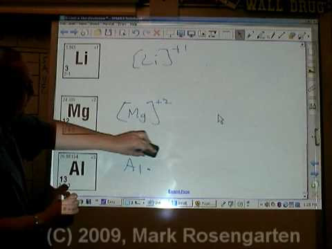 Chemistry Tutorial 4.07b:  Ions