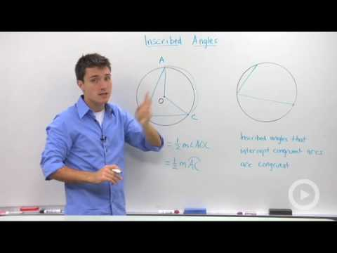 Geometry - Inscribed Angles