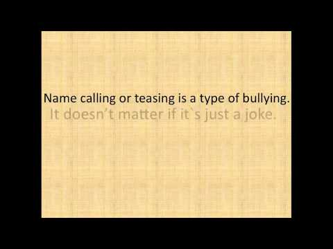 Bullying PSA by Shannon