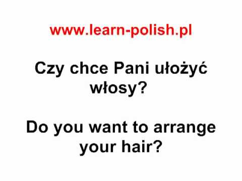 1 Polish Dialogues : At the hairdresser's - Polish Online
