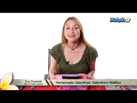 Homemade Valentines: Valentine's Mailbox