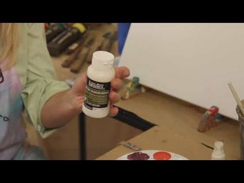 How to Paint with Acrylic Paint: Keeping Acrylic Paint from Drying too Fast