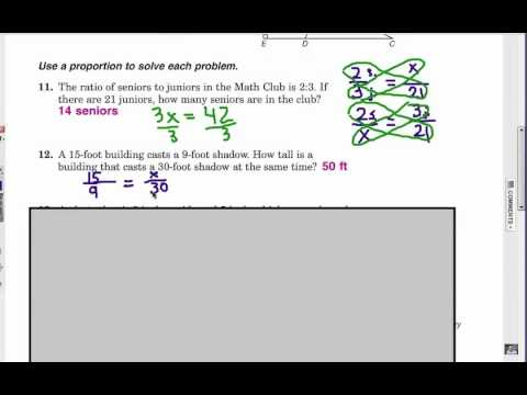 Viewer Challenge: Proportion Word Problems