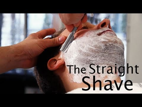 How-Tuesday: Straight Razor Shave