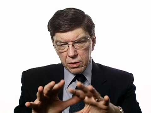 Clayton Christensen on Healthcare Pioneers