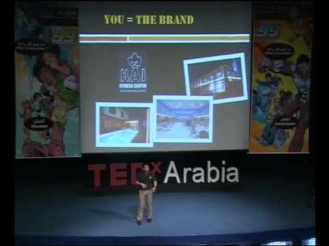 TEDxArabia talk - Dr.Badr AlShibani - You are the Brand (Be it,Take it,Give it )