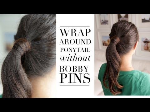 Hair Trick - Wrap Around Ponytail without Bobby Pins