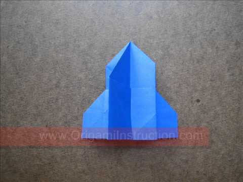 How to Fold Origami Church - OrigamiInstruction.com