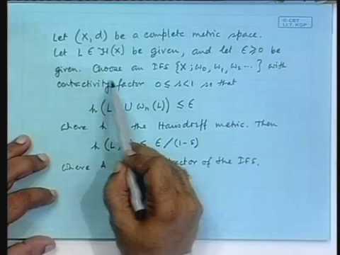 Lecture - 18 IFS Algorithms