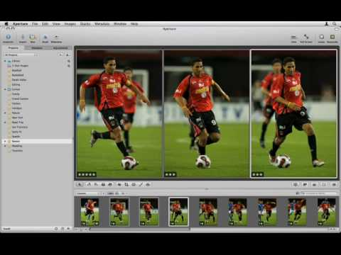 Aperture 2 Tutorials : 2.2.1 Introduction - Compare and Select - Making Multiple Selections