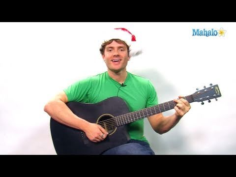 How to Play Blue Christmas by Elvis Presley on Guitar