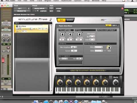 Pro Tools 9 Tutorial - Combining MIDI With SFX Using Structure