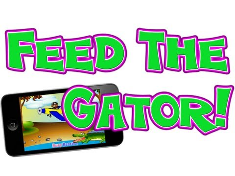 Fun Kids App - Feed the Gator Game