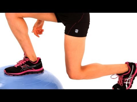 How to Do Bosu Ball Jumping   Exercise Ball Workout