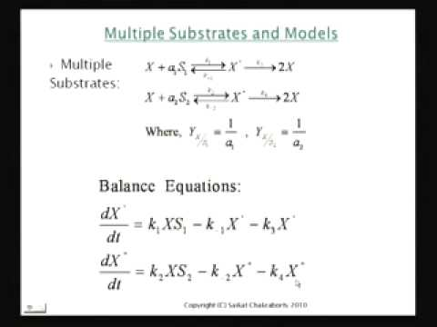 Mod-01 Lec-25 Effect of Multiple Substrates and Inhibition on Microbial Growth