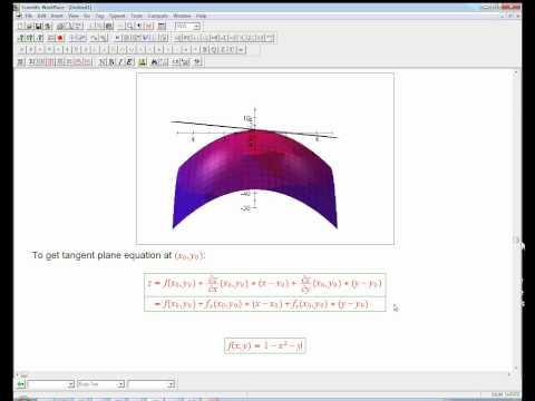 tangent plane example