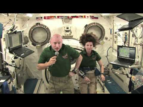 International Space Station Astronauts speak with Oregon students