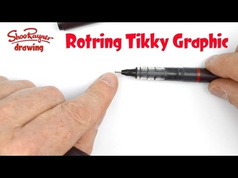 The pen I draw with - Rotring Tikky Graphic