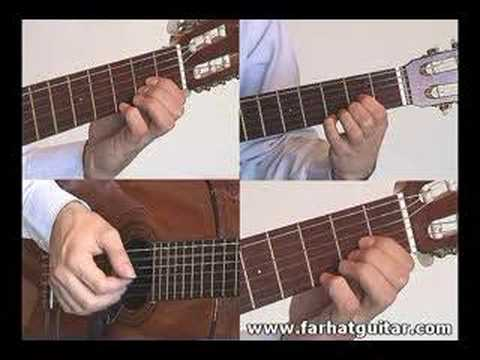 Yesterday - The Beatles Guitar Lesson part 3 HQ  farhatguitar.com