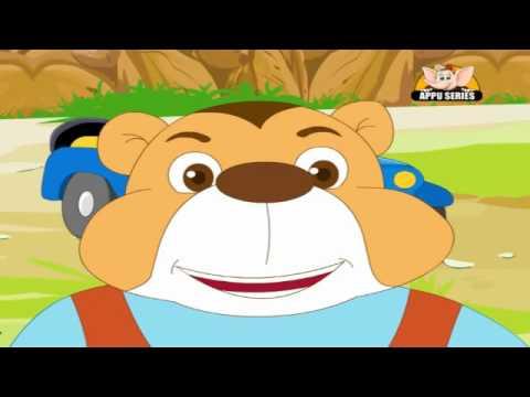 Nursery Rhyme - The Bear Went Over the Mountain