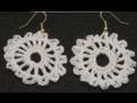 Left Hand Crochet - Left Hand How to make Crochet Earrings - Emma