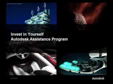 Autodesk's Steve Blum discusses Autodesk Assistance Program 2009