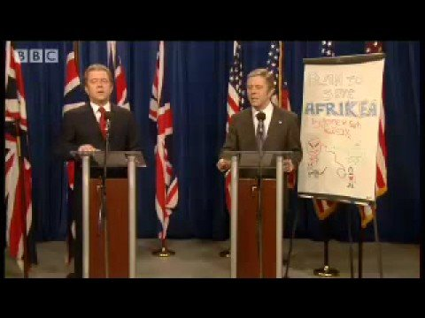 Tony Blair & George W Bush parody video - Dead Ringers - BBC comedy