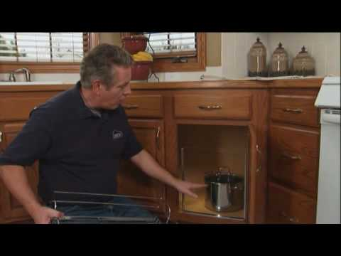 How to Install Cabinet Organizers for Pots, Pans and Trash Cans