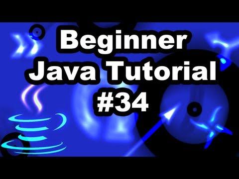 Learn Java Tutorial 1.34- ActionListener and JOptionPane