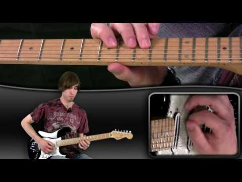 Beginner Guitar Lesson - B Minor Picking Lick