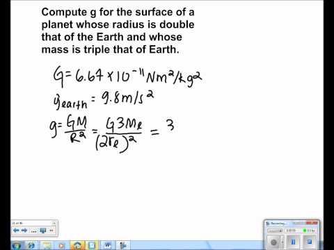 Universal Gravitation Presentation #10